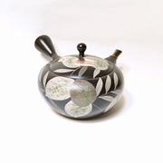 Green Leaf Side-handle Teapot