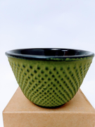 Green Nail-Head Iron Cup