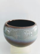 Grey Incense Bowl