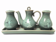 Korean -Celadon -Condiment -Set