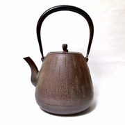 Large Brown Iron Teapot