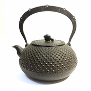 Large Round Iron Teapot