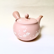 Pink Side-handle Tea Pot