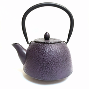 Purple Iron Teapot
