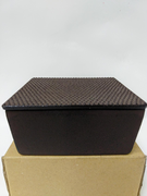 Rectangular Cast Iron Nail Head Box