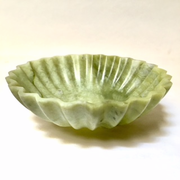 Scalloped Jade Bowl