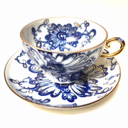 Singing Garden Pattern Cup and Saucer