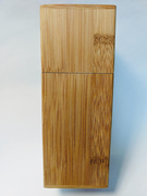 Square Bamboo Canister