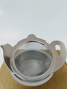 Teapot Design Strainer with Dish