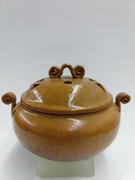 Terra Cotta Burner with Lid