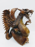 Upright Wood Dragon 1