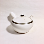 White Side-handle Teapot set