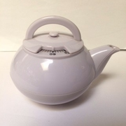 White Tea Pot Timer