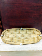 Woven Bamboo Hand Towel Holder