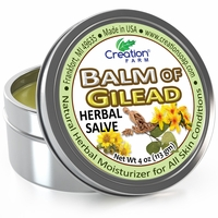 Balm of Gilead Herbal Salve Tin 4oz.