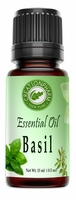 Basil Essential Oil -- 15ml (0.5oz)