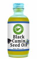Black Cumin Seed Oil -- Nigella sativa (Black Cumin) Seed Oil 2oz