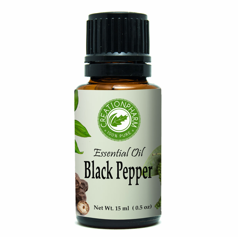 Black Pepper Essential Oil 15ml (0.5oz)