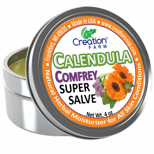 Calendula Salve - Super Salve - 4 oz Tin