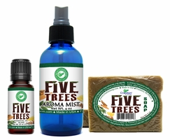 Five Trees Aroma Oil Collection Set