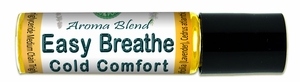Easy Breathe Aroma Blend Supports Respiratory System * Sinus Relief * Roll-On 10 ml (0.3 oz)