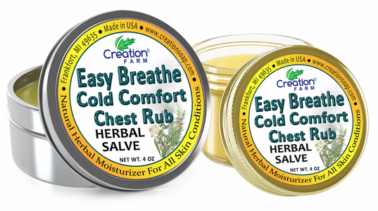 Easy Breathe Cold Comfort Chest Rub Salve