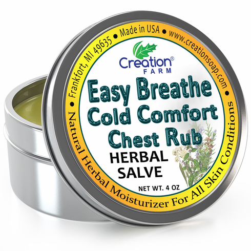 Easy Breathe Cold Comfort Chest Rub Tin 4oz