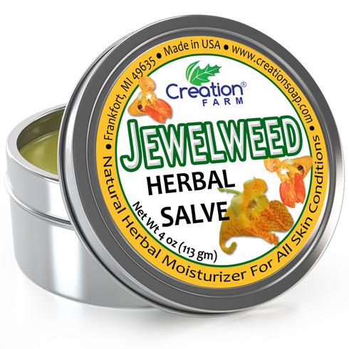 Jewelweed Herbal Salve Tin 4oz.