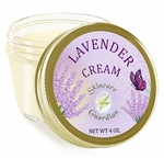 Lavender Cream with Organic Coconut Oil 4 oz