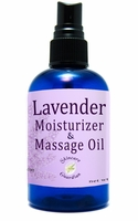 Lavender Massage Oil 4 oz