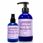 Lavender Moisturizer and Massage Oil