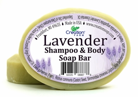 Lavender Shampoo & Body Herbal Soap
