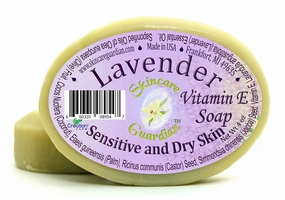 Lavender Vitamin E Soap - For Sensitive and Dry Skin