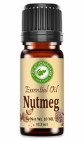 Nutmeg Essential Oil 10 ml (0.3 oz) -- Aceite Esencial de Nuez Moscada