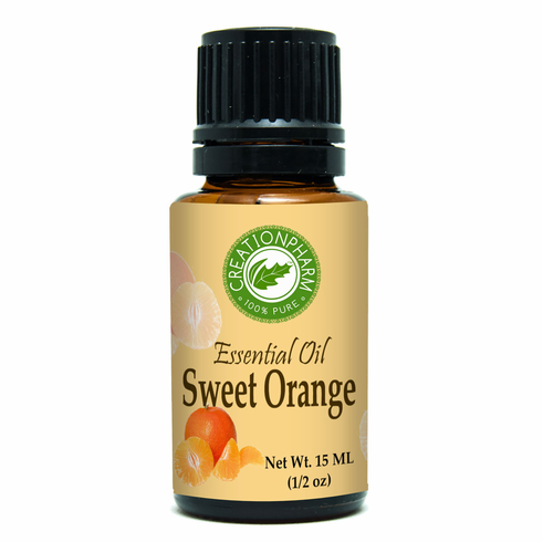 Orange, Sweet Essential Oil 15ml (0.5oz)
