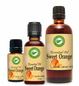 Orange, Sweet Essential Oil -- Aceite esencial de naranja dulce
