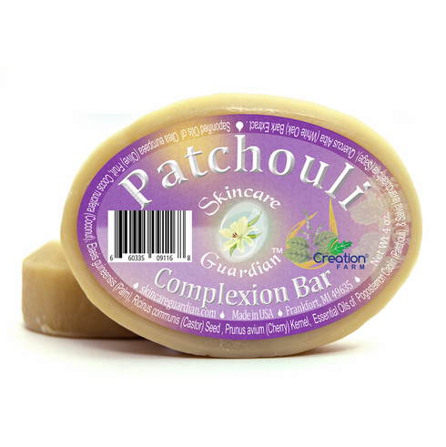 Patchouli Complexion Soap for Normal, Dry, & Sensitive Skin
