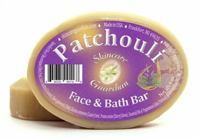 Patchouli Face and Bath Soap for Normal, Dry, & Sensitive Skin