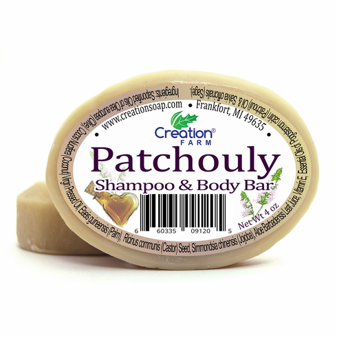 Patchouli Shampoo Body Bar