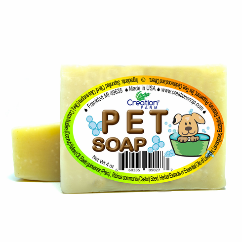 Pet  Soap 4 oz Bar