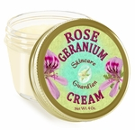 "Rose Geranium Moisturizer 4 oz. ""Rescue"""