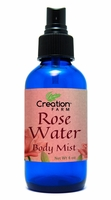 Rose Water Body Mist 4 oz