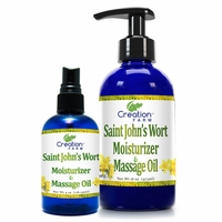 St. John's Wort Moisturizer and Massage Oil
