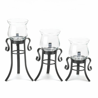 Allure Candle Stand Trio
