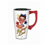 American Diva Betty Travel Mug