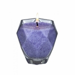 Amethyst Jewel Glass Candle