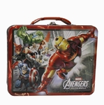 Avengers Assemble Into Battle Tin Lunch