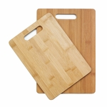 Bamboo Cutting Boards Duo