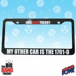 Big Bang Theory License Plate Frame