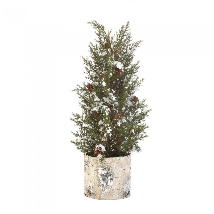 birch tree pine sprig topiary - Wholesale Christmas Decorations Distributors